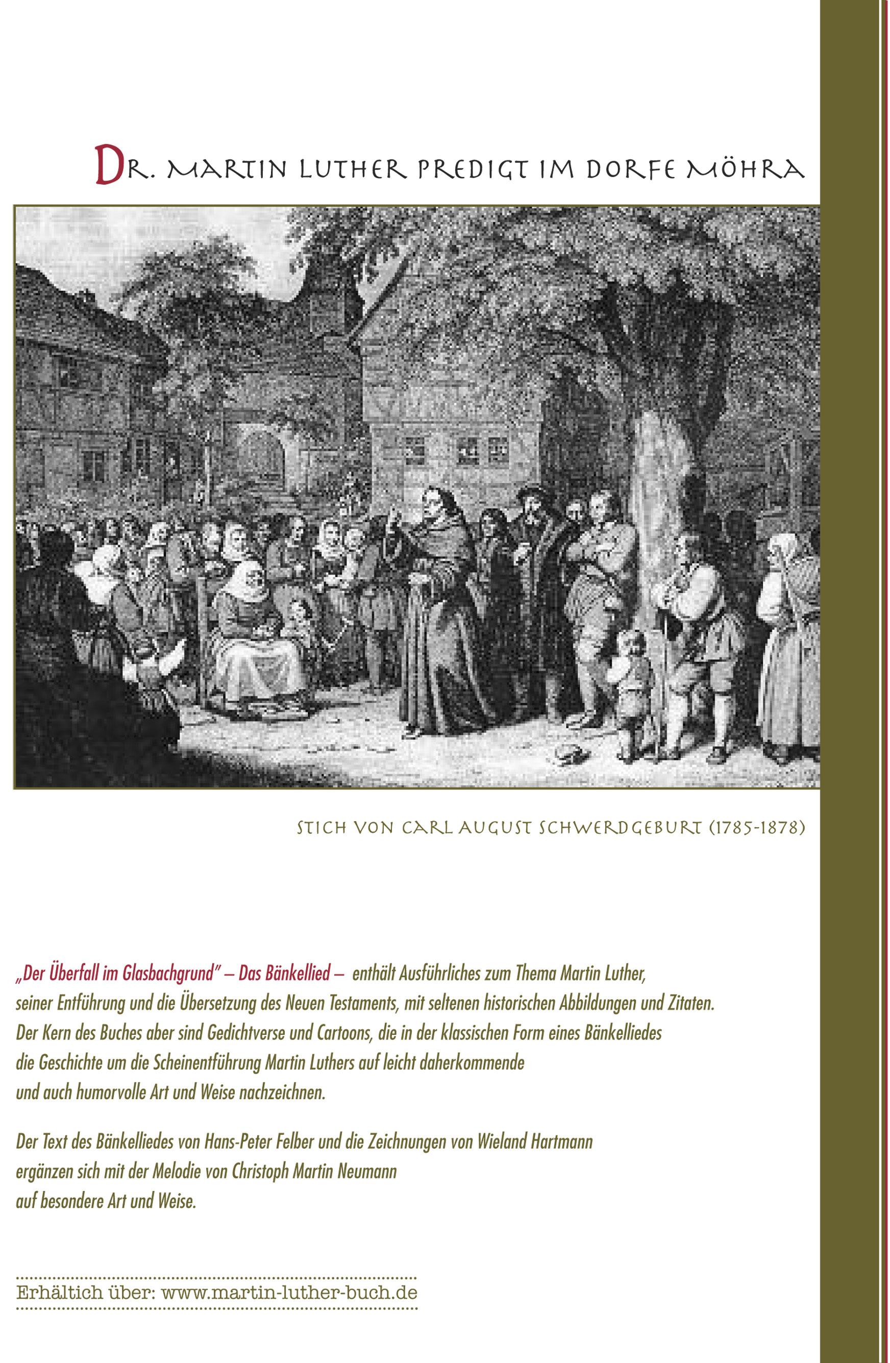 Martin Luther :: Die Entführung im Glasbachgrund - Leseprobe 2